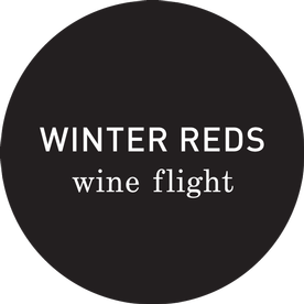Pre-booked 'Winter Reds' Wine Flight: Sat 11:00 (Map Room)