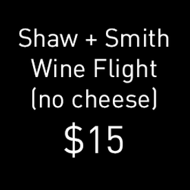 Wine Flight: SS no cheese Image